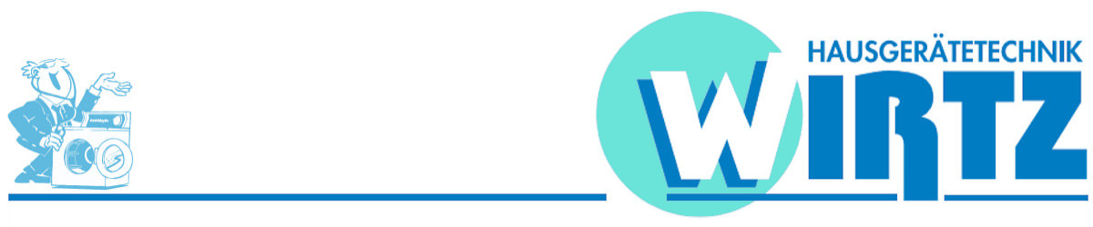 Header, Logo der Fa. Wirtz, Hausgerätetechnik